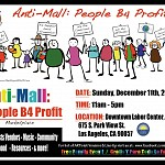 Anti-Mall:People B4 Profit @ Downtown Labor Center – 11 am/FREE