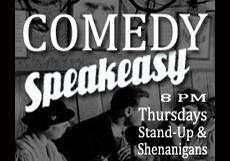 Comedy Speakeasy @ the Loft – 8 pm/$10
