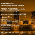Nosaj Thing @ Mondrian – 8 pm/FREE