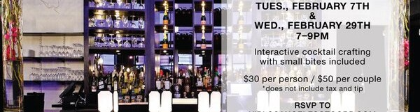 Couples Cocktail Class @ STK – 7 pm/$50 per couple