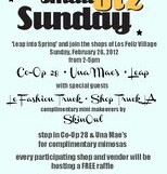 Small Biz Sunday @ Co-Op 28 Handmade – 2 pm/FREE