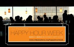 Old Pasadena Happy Hour Week – all evening/price of drinks