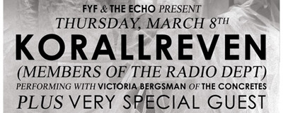 Korallreven @ the Echo – 8 pm/$12