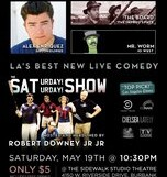 The Saturday! Saturday! Show @ Sidewalk Studio Theater – 10:30/$5