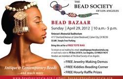 Bead Bazaar @ Veteran's Memorial Building – 10 am/$5