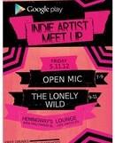 Indie Artist Meet-Up with Google Play @ Hemingway's – 7 pm/FREE