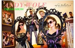 Andy Wolf Trunk Show @ Cateye Spectacles – 12 pm/FREE